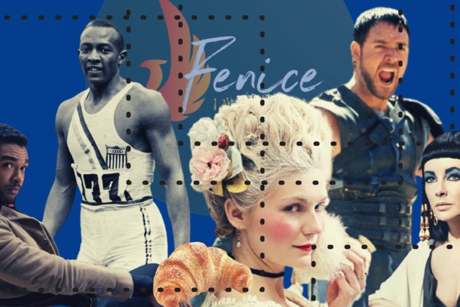 Articolo blind casting collage di personaggi storici interpretati da attori