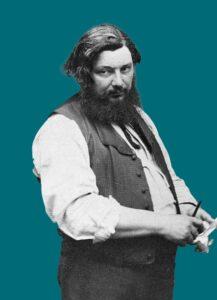 Foto del pittore Gustave Courbet [1]